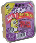 11.75 OZ Raisin Delight Suet Dough Cake Rendered Beef Suet Only One by