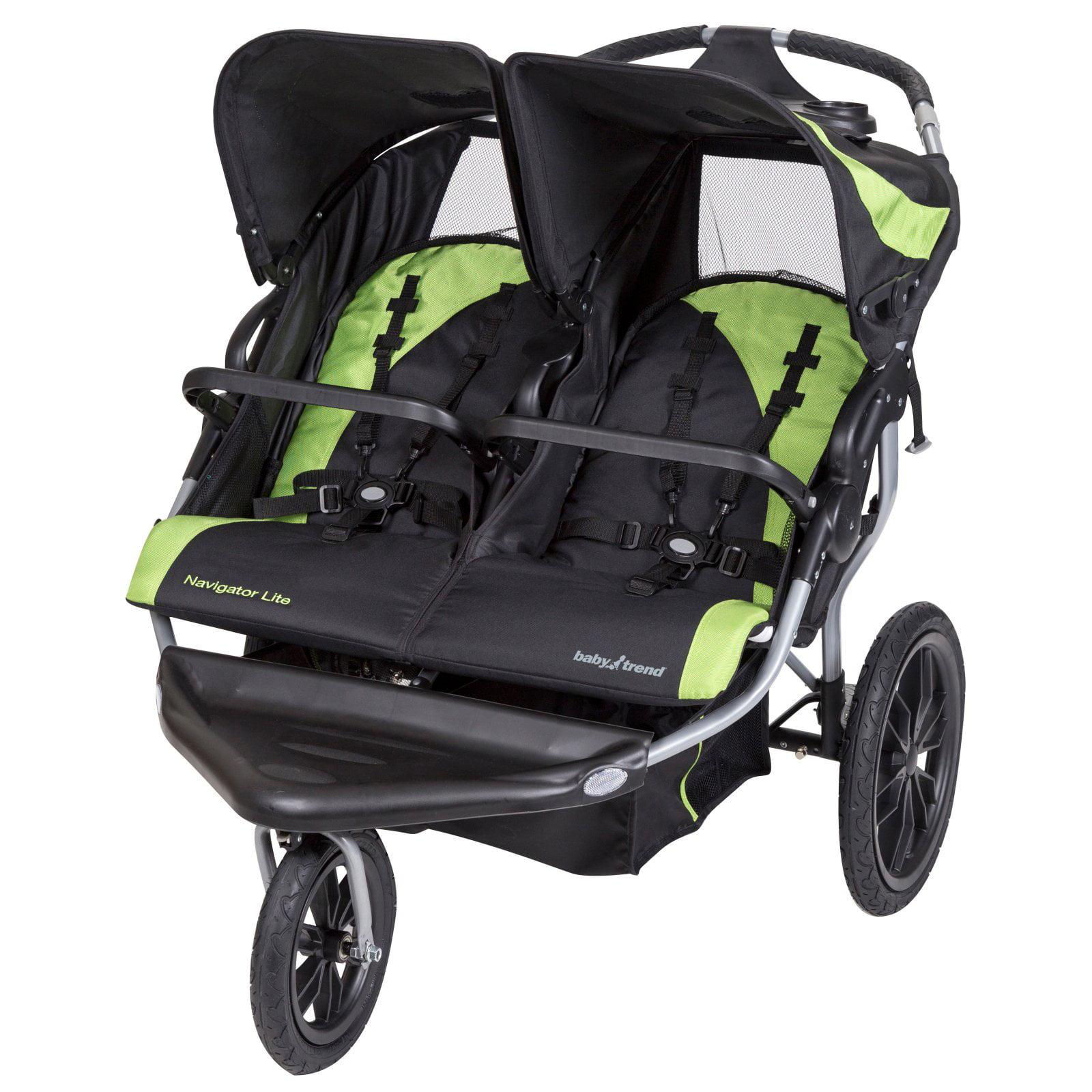 Baby Trend Navigator Lite Double Jogging Stroller Lincoln