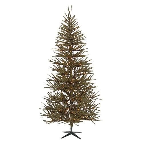 Vickerman Vienna Twig 8' Green Artificial Christmas Tree