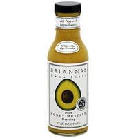 Brianna's Dijon Honey Mustard Dressing, 12 oz (Pack of 6)