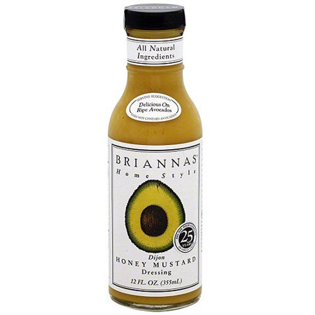 Brianna's Dijon Honey Mustard Dressing, 12 oz (Pack of 6)
