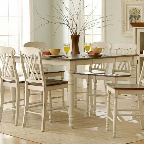 Homelegance Ohana Counter Height Dining Table with Leaf