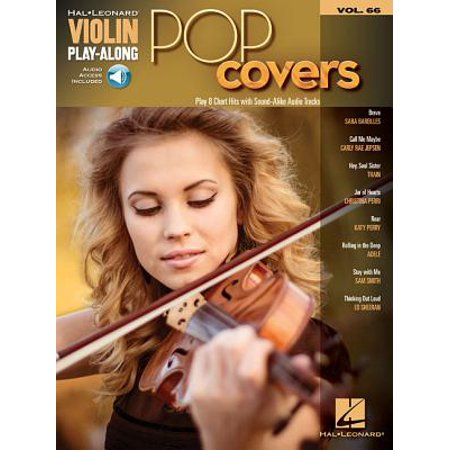 Pop Covers : Violin Play-Along Volume 66