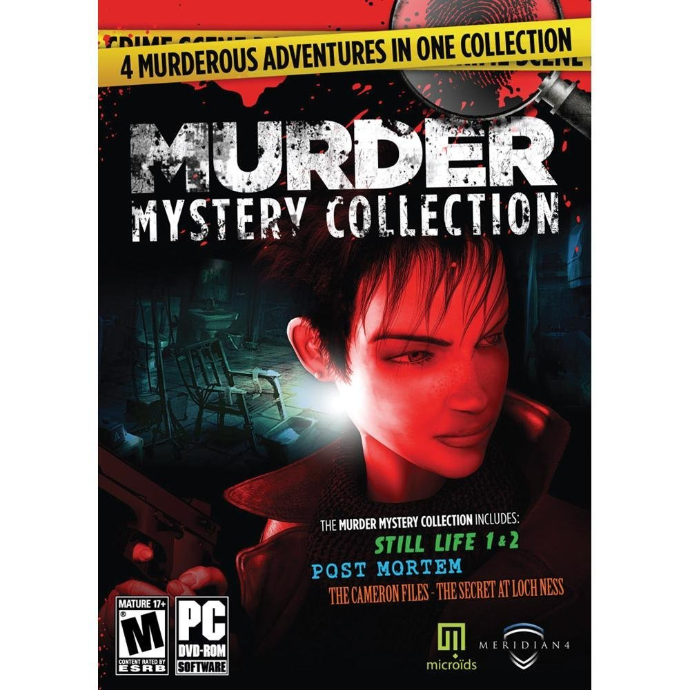 PC 4 Game Pack - Murder Mystery Collection: Still Life Trilogy & The Cameron Files - The Secret At Loch Ness (WINDOWS XP/VISTA/7)