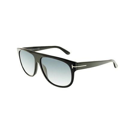Tom Ford Women's Gradient Kristen FT0375-02N-59 Black Square Sunglasses (Tom Ford-optische Womens)