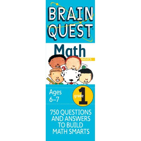 Brain Quest Grade 1 Math, Revised 2nd Edition Second Grade Brain Teasers