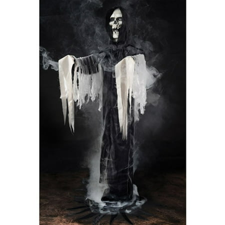 Reaper Phantom in Black Fogger Halloween Prop](Diy Halloween Animatronics Props)