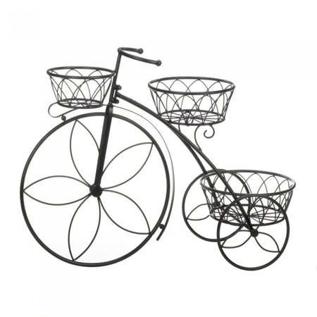 TRICYCLE 3-TIER PLANT STAND (Tricycle Plant Stand)