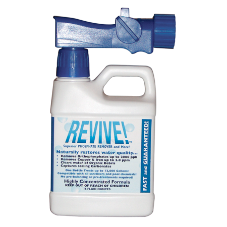 REVIVE! Swimming Pool Phosphate and Algae Remover Chemical For Pools - 16