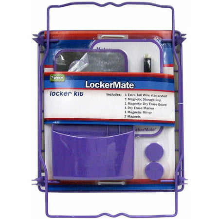 7-Piece Locker Kit, Available in Multiple Colors