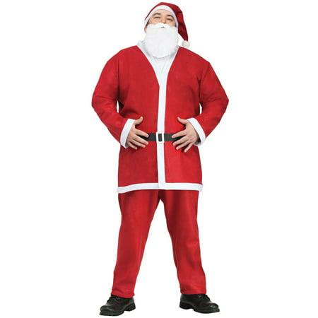 Pub Crawl Santa Suit Adult Plus Costume (Pub Crawl Santa Costume)