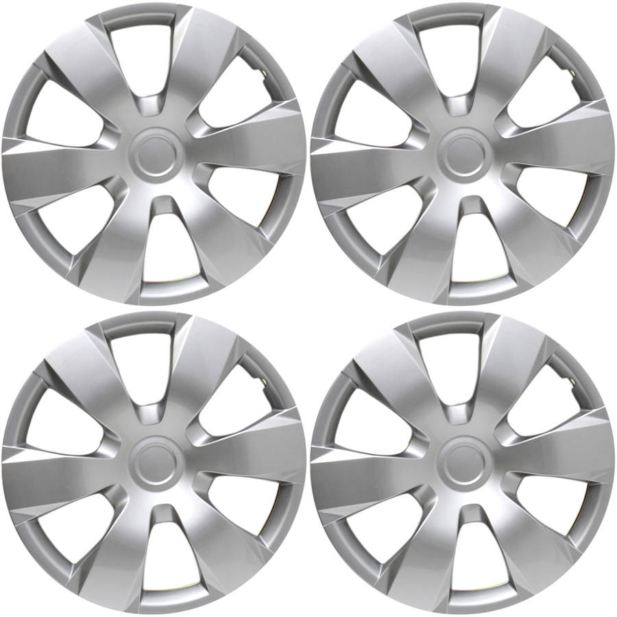 """4 Piece Set A/M Silver ABS Fits 2007 TOYOTA CAMRY 16"""" Wheel Cover Hub Caps"""