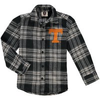 Tennessee Volunteers Wes & Willy Preschool Flannel Long Sleeve Shirt - Black