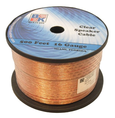 Blast King IR2X16-500 16 Gauge 500 Ft Speaker Wire By Blast Ki