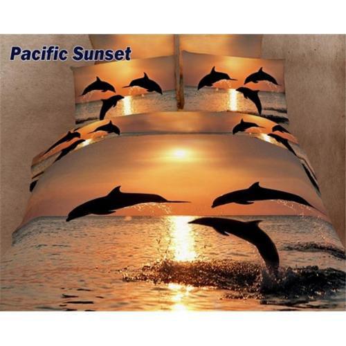 Marine King Bed Luxury Bedding Duvet Cover Set Dolce Mela DM426K