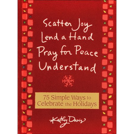 75 Simple Ways to Celebrate the Holidays : Scatter Joy, Lend a Hand, Pray for Peace, Understand - Praying Hands Clipart