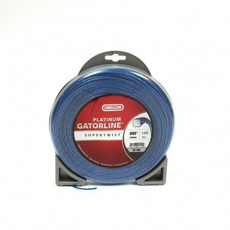 "Oregon Trimmer Line: Supertwist Platinum Gatorline- 1/2lb (.095"" gauge - 145"