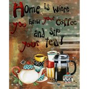 LPG Greetings Home Is Where You Brew Graphic Art