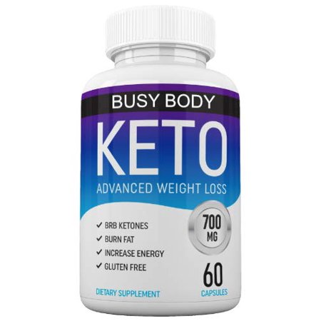 Busy Body Keto Diet Nutrition MCT Advanced Weight Loss Supplement, 700 Mg, 60 (Beverly International 7 Keto Musclean 90 Capsules)