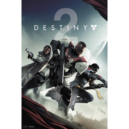 Destiny 2 - Gaming Poster / Print (Key Art / Game Cover) (Size: 24