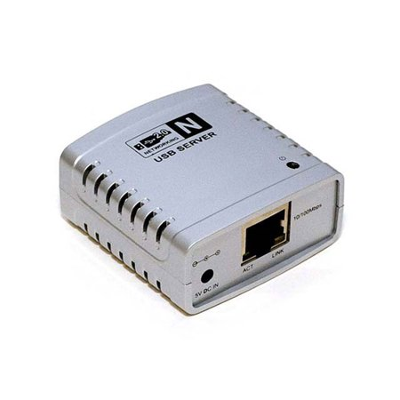 Networking USB 2.0 Print Server - Share 1 USB Device