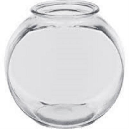 Plastic Drum Fish Bowl 1 Qt