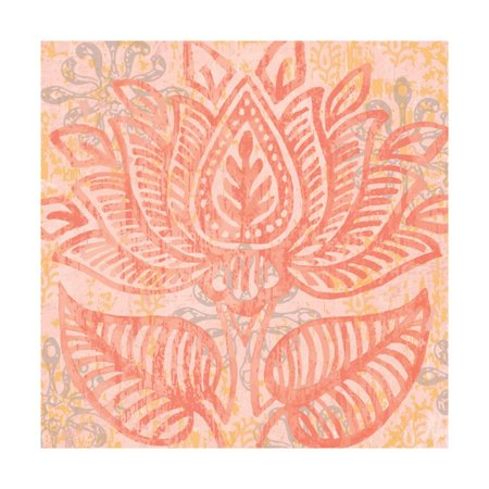 Block Print Paisley II Print Wall Art By Leslie Mark