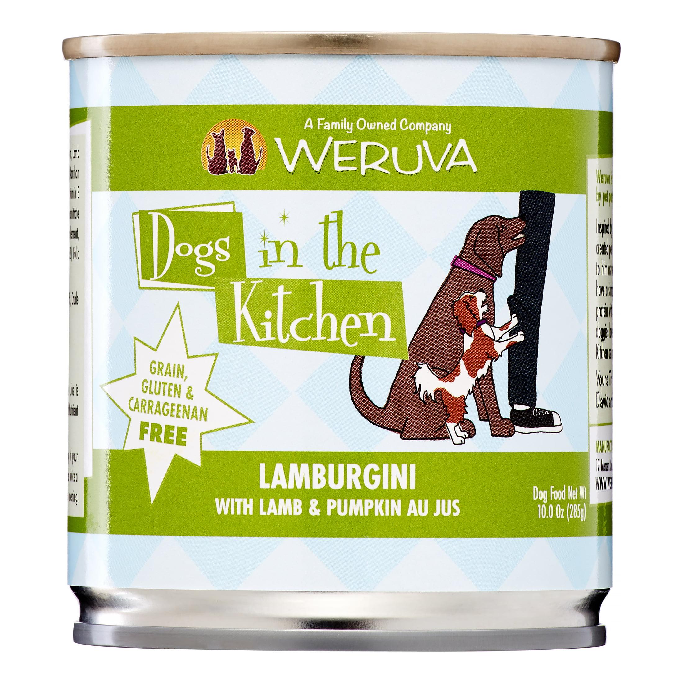 Weruva Dogs In The Kitchen Grain-Free Lamburgini Lamb