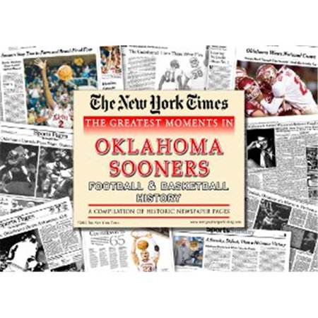 History New York Times Newspaper - RDB Holdings & Consulting CTBL-009178 Oklahoma Sooners Unsigned Greatest Moments in History New York Times Historic Newspaper Compilation