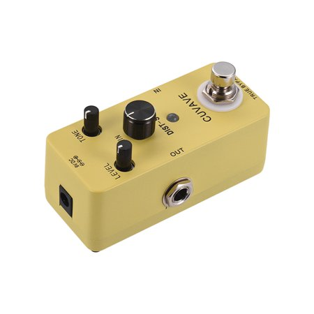 Classic Distortion Guitar Effect Pedal True Bypass Full Metal Shell - image 3 of 6
