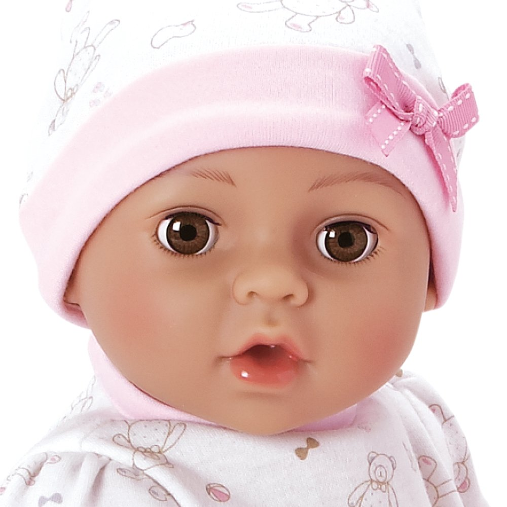 "JC To Adoption Baby /""Cherish/"" 15 Inch Vinyl Girl Newborn Weighted Soft Cuddle Bo"
