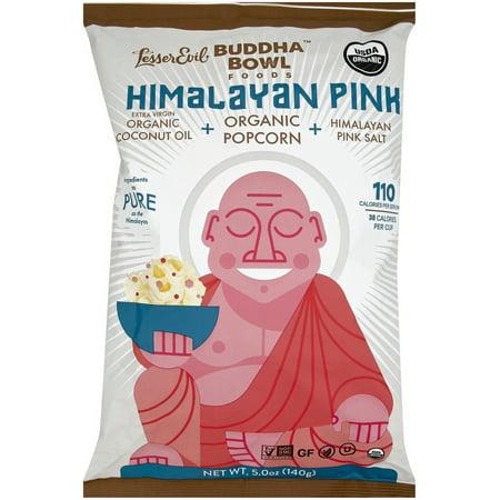Buddha Bowl Foods Organic Himalayan Pink Popcorn, 5 oz - Personalized Popcorn Bowl