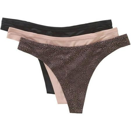 Maidenform Sweet Nothings Women's Thong Panties - 3 Pack