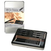 Royal Brush Life Drawing Small Tin Art Set