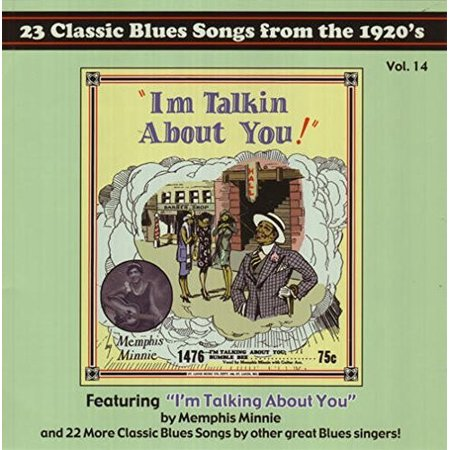 23 Classic Blues Songs From the 1920's Calendar Vol  14