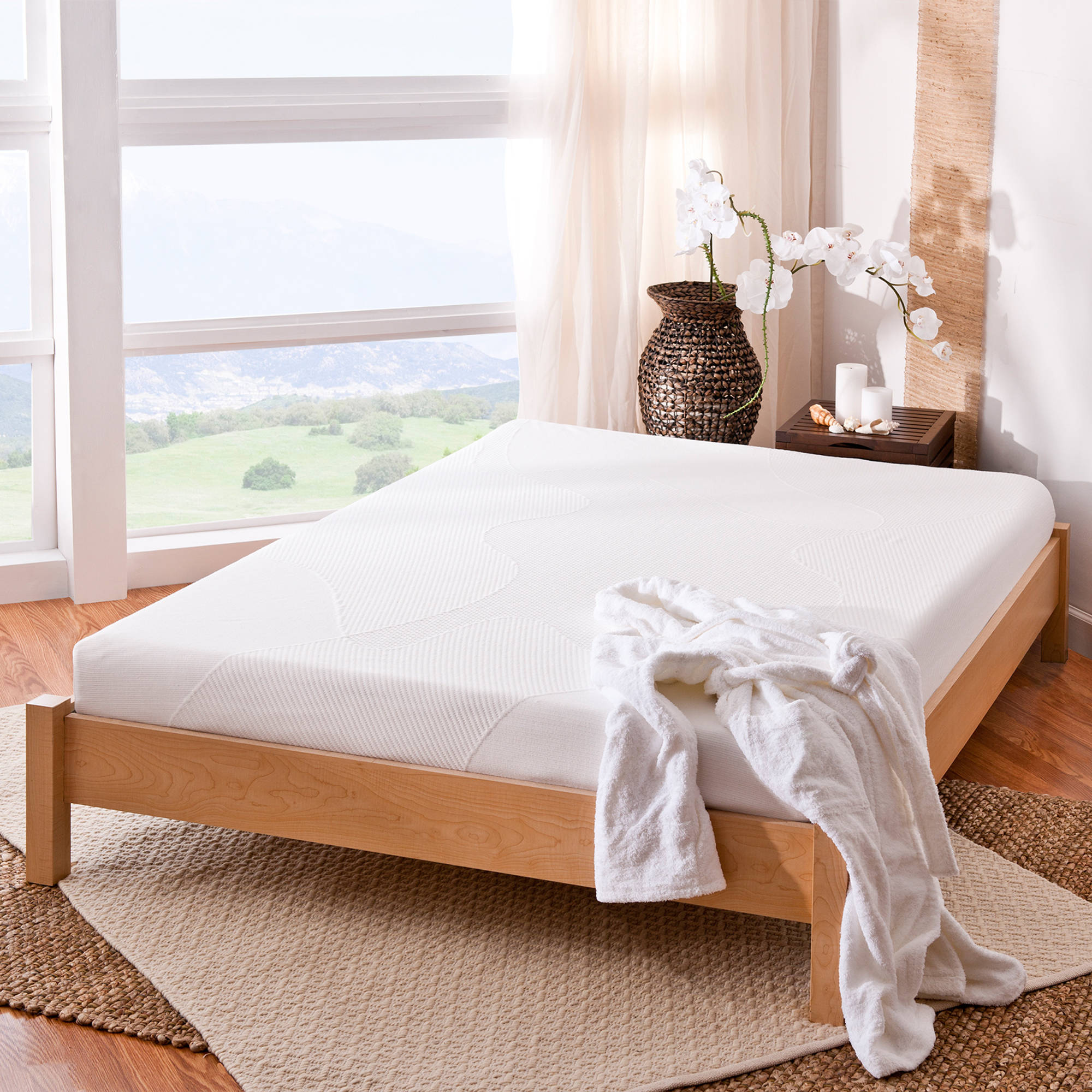Spa Sensations By Zinus 6 Memory Foam Mattress Queen