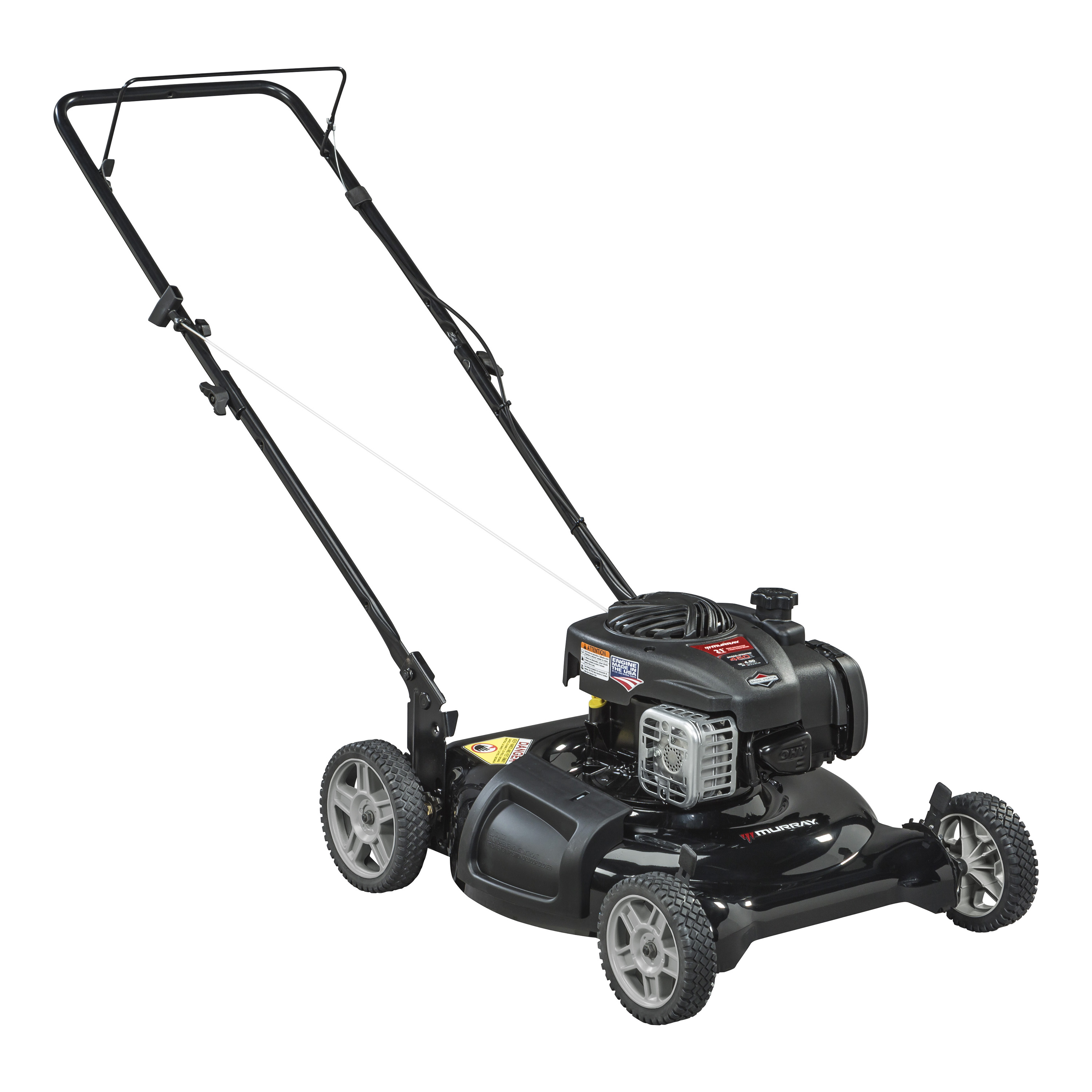 Murray 21 in. Briggs & Stratton 125cc 2-n-1 Push Lawnmower