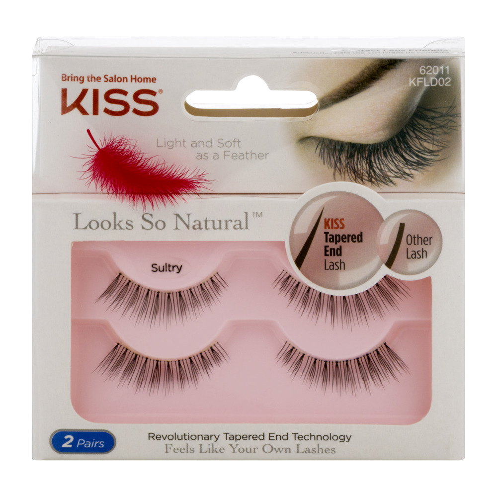 Kiss Looks So Natural Lashes - 2 CT - Walmart.com