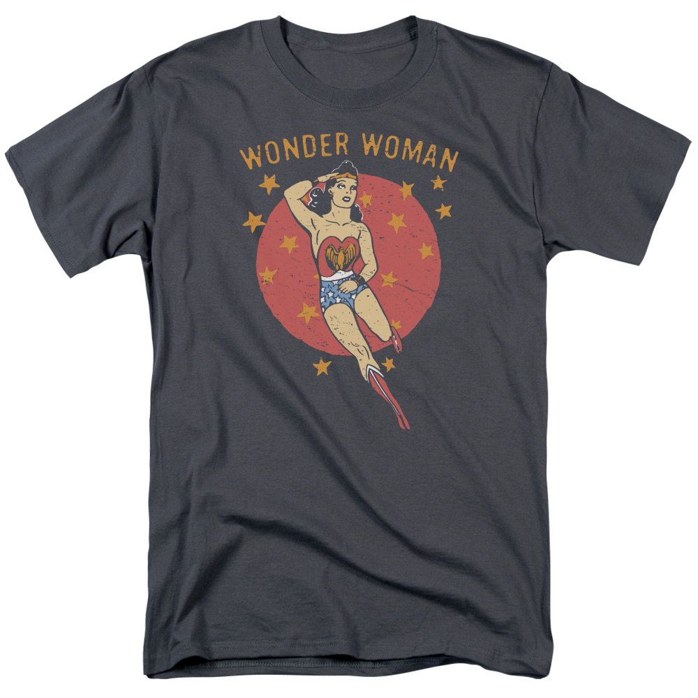 DC Comics Wonder Circle Mens Short Sleeve Shirt