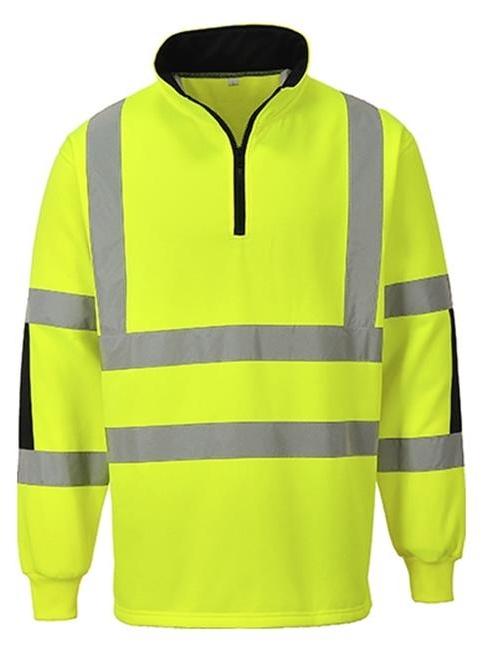 Portwest B308YERM Xenon Rugby Sweatshirt - Medium