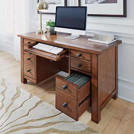 Grand Style Desk (Home Styles Tahoe Executive Pedestal Desk )