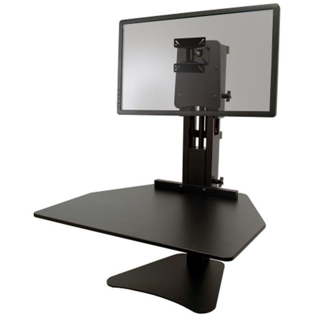 Victor Technologies DC300 High Rise Sit-Stand Desk Converter, Black
