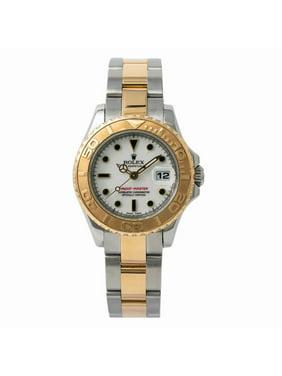 Pre-Owned Rolex Yacht-master 169623 Steel Women Watch (Certified Authentic & Warranty)