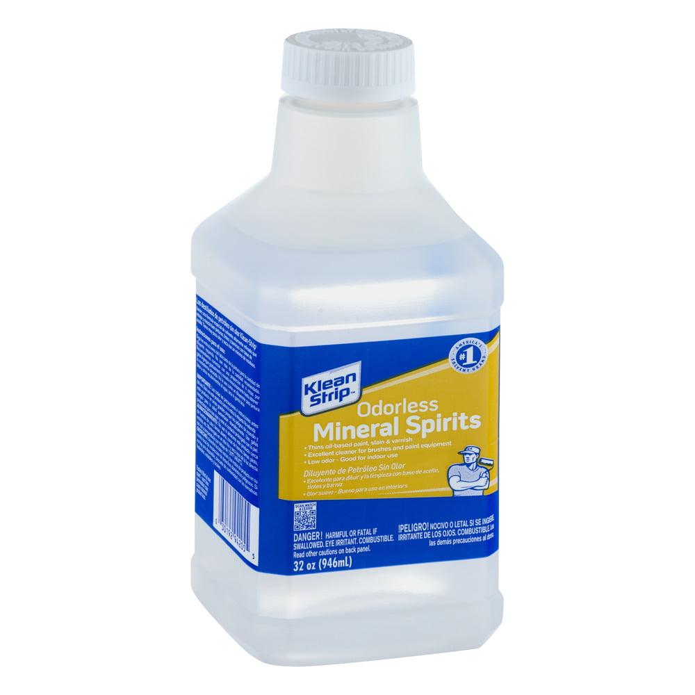 Klean-Strip Odorless Mineral Spirits, 1 qt - Walmart com