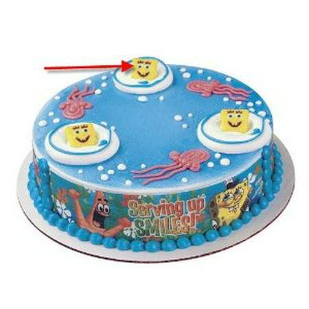 CakeSupplyShop Spongebob Edible Sugar Cupcake Cake Decoration Topper