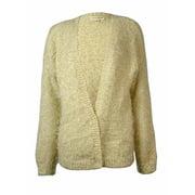 Maison Jules Women's Flecked Eyelash Knit Cardigan