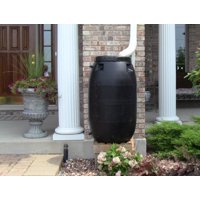 Deals on UpCycle Products 55 Gallon Black Rain Barrel