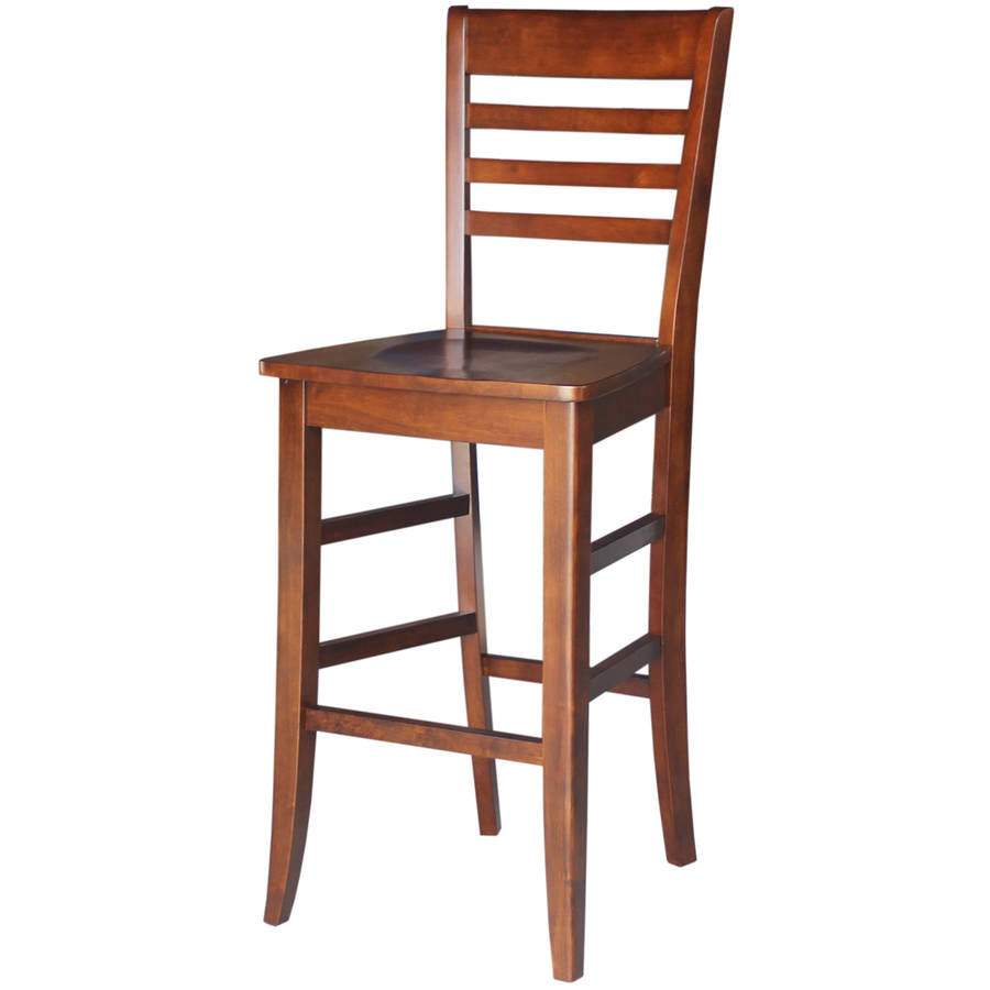 International Concepts Bar Height Stool Set Of 2