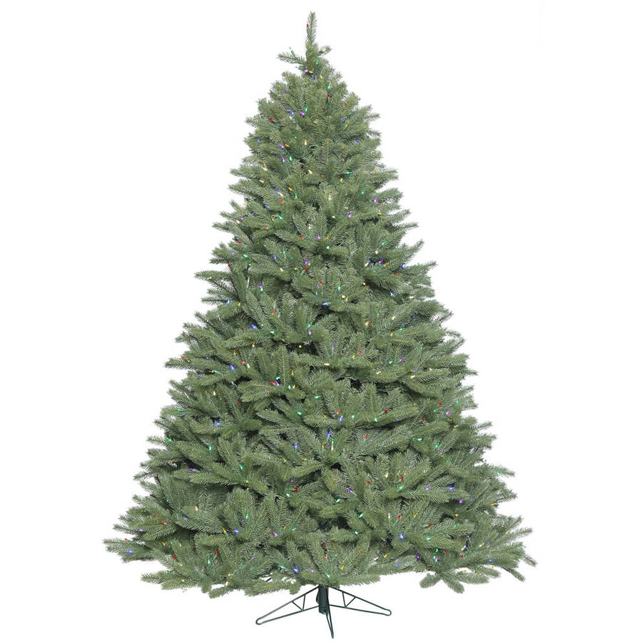 Vickerman 5.5' Colorado Spruce Artificial Christmas Tree with 550 Multi-Colored LED Lights