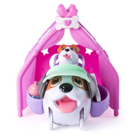 Chubby Puppies & Friends - Camping Pups - Tent Playset